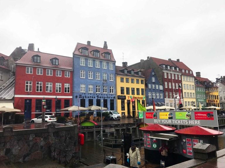 Nyhavn Kööpenhamina Interrail Tanska nähtävyydet matkailu