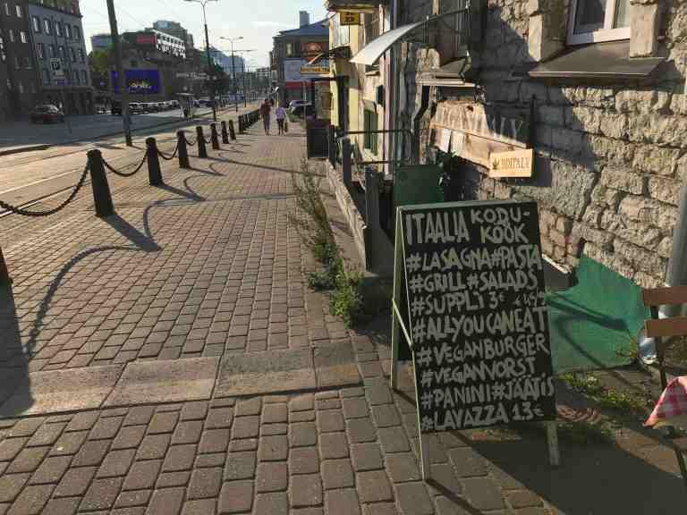 Hetkeen pysähtynyt Interrail Italiaan Koduköök Kotikeittiö Ravintola Tallinna