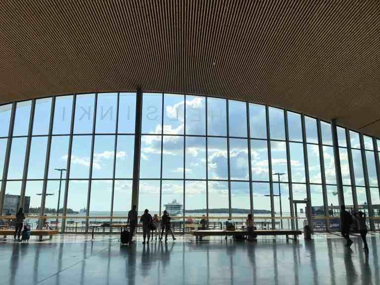 Hetkeen pysähtynyt Interrail Italiaan Länsisatama Helsinki